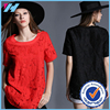2015 Latest Hot casual lace dress plus size women clothing