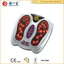 sanità elettrico massager del piede e vibratore con telecomando