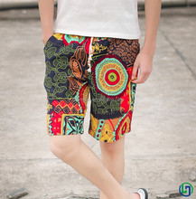 2015 the most hot sales men Sublimation printing beach pants sexy boardshorts beachwear for men
