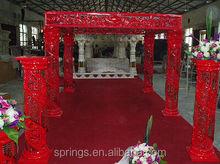 China style crystal wedding mandap for wedding decoration&wedding events