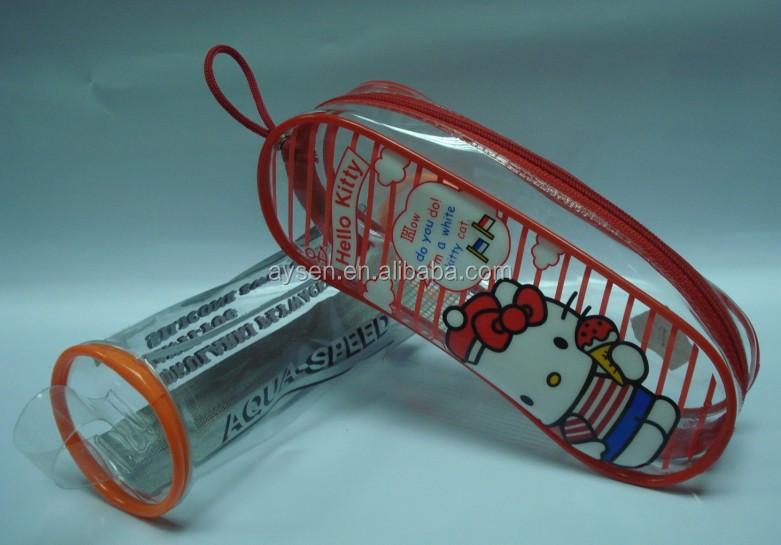 Limpar transparente caixa de plástico/pvc caixa de plástico para óculos