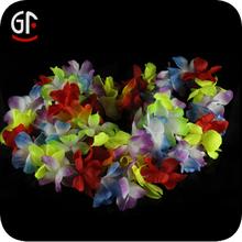Factory Wholesale Cheap Handmade Hawaiian Lei Necklace Flower