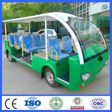 2015 very cheap cars from china electrical vehicle 11 seats engine motor tourist car