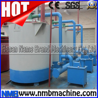 Henan continuously rice husk coal carbonizer/charcoal powder making machine