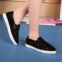 top quality europe famous designer 2015 new cheap ladies lace summer flat women shoes from China