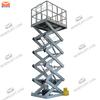 warehouse hydraulic heavy duty scissor lift with 1t capacity