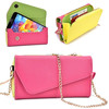 Wholesale Mobile Phone Carry Bag Ladies Leather Wallet Phone Purse