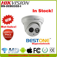 Hot sale 3.0 Megapixel Infrared H.264 good price hikvision network camera DS-2CD2332-I in distributor price !