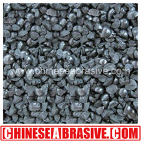 high quality sand blast material carbon cast steel grit G50