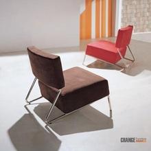 Armless Relaxing Single Modern Hotel Sofa Chair