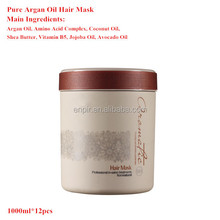 Professional salon argan oil hair treatment best dry hair treatment cream