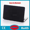 Matte laptop flip protect cover case Full Body Cover Silicone Case For Apple Macbook Pro 13 Inch