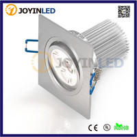 High Power AC85-265V 3*3W 9W Recessed Led Downlight modern ceiling fixtures