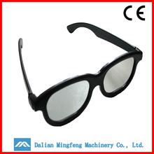 high quality circular polarized 3d glasses,cool&stylish plastic 3d glasses