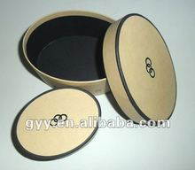 2012 brown paper round belt packaging box