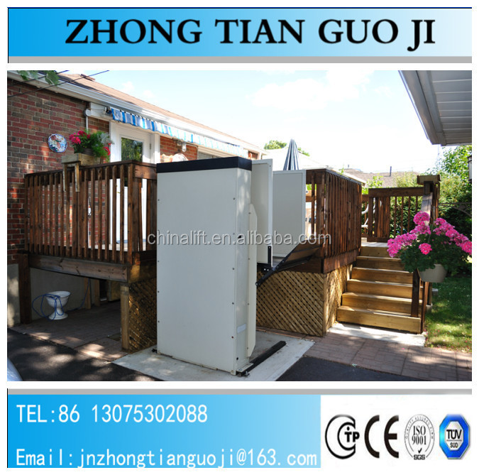Electric Hydraulic Wheelchair Lift : Electric hydraulic porch wheelchair lift for disabled