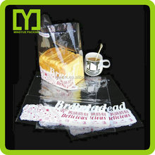 Food grade quality opp/cpp resealable bag with wholesale price