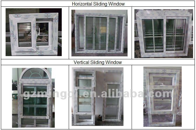 Hot upvc commercial sliding glass reception windows frames for Window in german