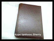 A4 pu leather conference presentation folder/document folder/File folder emboss your LOGO