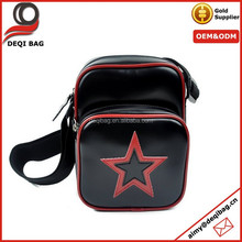 Black and Red Star Camera Style Sling Bag fashion tote bag