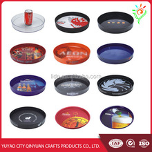 Customized order large plastic tray plastic serving tray