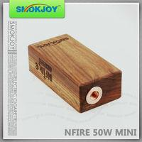 2015 wholesale original SMOKJOY design SMOKJOY N fire 50W box mod cheap e-cig mod