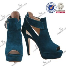 New style atmosphere elegant high quality leather boots for women