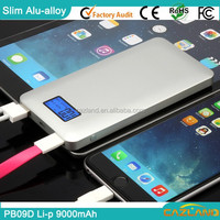 PB09D 2015 9000mah building in line power bank for cell phones