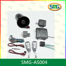one-way Car Alarm System with Remote Engine Start Function and Remote Temperature Monitoring
