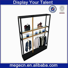 clothing store three layers decorative shelves, display units