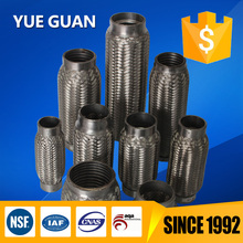 Direct manufactory, ISO 9001, 16949, flexible exhaust pipe in car system