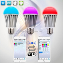 rechargeable amusement lighting led smart lights bulb wifi