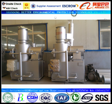 Small waste incinerator for 30-50 beds hospital, 3D video, lifetime technical service
