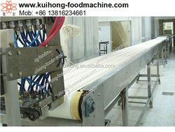 extruding marshmallow Producing running machinery