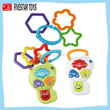 musical key rattle toy baby musical mobile toys