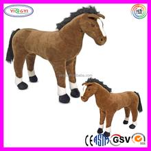 D243 Soft Giant Soft Horse Animal Stuffed Toy Large Plush Horse