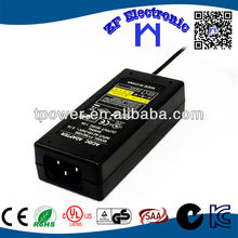 Switching Power Supply 15v 3a adapter with FCC KC CE CUL UL GS SAA ROHS listed