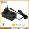 EN60335 EN60950 standard Euro Plug In 12V 18W 1.5A power adapter CE certification