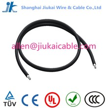 TUV approved PV1-F Solar Cables one/two core dc Solar PV wire 10mm2