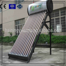 Lower Price New Style Anti-Corrosion Non-pressured Solar Water Heater for family bathing