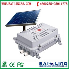 Anti voltage transformer cable burglar GSM security alarm system BL3030 with solar panel