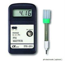 0 to 14 PH Lutron Professional PH-201 Pocket PH Meter with Resolution 0.01PH
