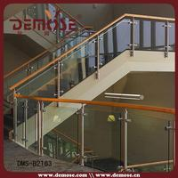 deck glass railing/ glass panels for decking/ tempered glass panels
