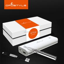 Opustyle hot sales max vapor electronic cigarette 510 ecig battery e cigarette hong kong with powre bank 5200mAh for mobile