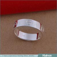 Fashion Elegant Shiny Silver only Ring Bridal Jewelry
