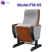 FM-65 Fabric movable pulpit chair for church use