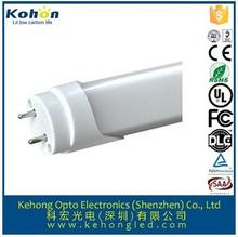 Higher brightness Epistar chip PF>0.9 CRI>80Ra 18W (1200mm) T8 LED Tube