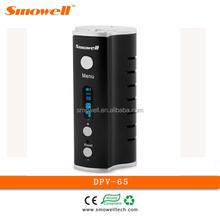 2015 Smowell unique cigarettes DPV-65 dual 18650 battery electronic smoking