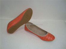 GCE564-2015 female flat sole running shoes with ladies leather shoes made in brazil for shoe factory italy