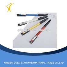 2015Promotion Cheap colorful printing customed Plastic Pen
